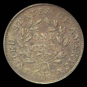 1799/8 1C MS reverse