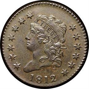 1812 1C MS obverse