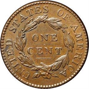 1819/8 1C MS reverse