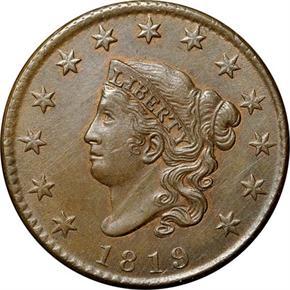 1819 1C MS obverse