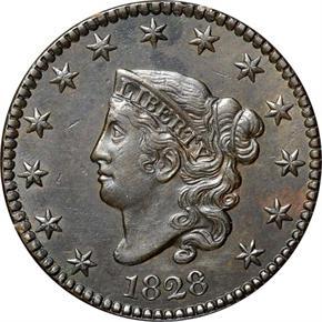 1828 1C MS obverse