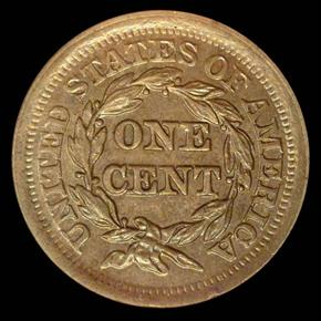 1852 1C MS reverse
