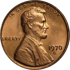 1970 S LARGE DATE 1C MS obverse