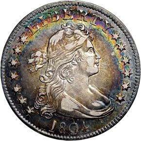 1804 25C MS obverse