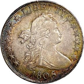 1806/9 50C MS obverse