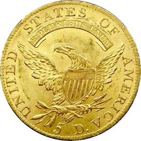 1808 $5 MS reverse