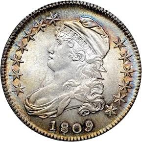1809 50C MS obverse
