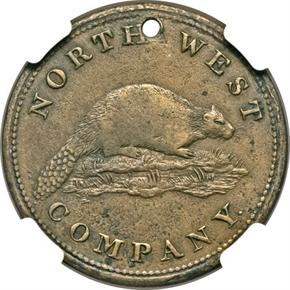 1820 COPPER NORTHWEST COMPANY TOKEN MS reverse