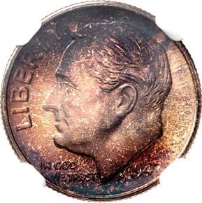 1947 S 10C MS obverse