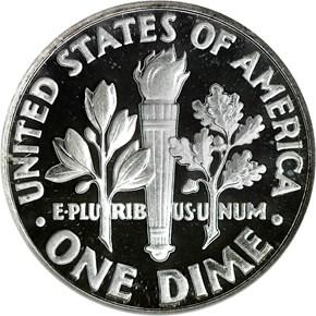 1962 10C PF reverse