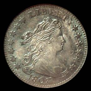 1807 JR-1 10C MS obverse