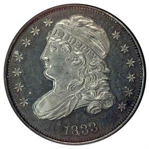 1833 10C PF obverse