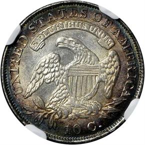 1834 10C MS reverse