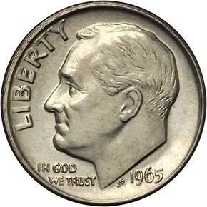 1965 10C MS obverse