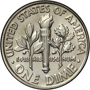 1993 D 10C MS reverse