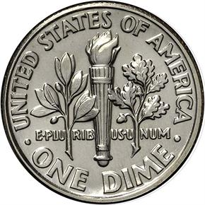 1996 D 10C MS reverse