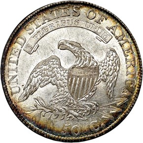 1811/10 50C MS reverse
