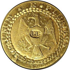 1787 'EB' ON BREAST EPHRAIM BRASHER DBLN MS obverse