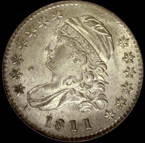 1811/09 JR-1 10C MS obverse