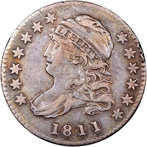 1811/09 JR-1 10C MS obverse