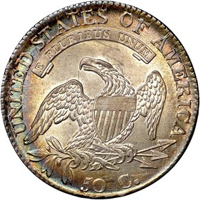 1812/1 SMALL 8 50C MS reverse
