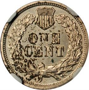 1864 J-359 1C PF reverse