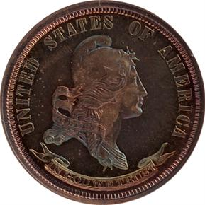 1870 J-889 25C PF obverse
