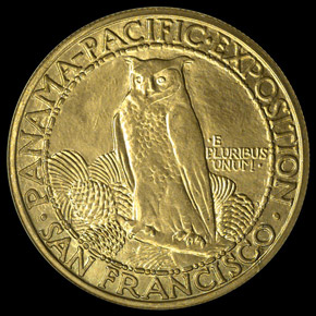 1915 S PAN PAC ROUND $50 MS reverse