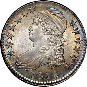 1814 50C MS obverse