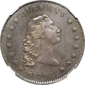 1794 BB-1,B-1 S$1 MS obverse