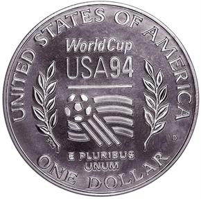 1994 D WORLD CUP S$1 MS reverse