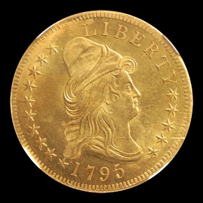 1795 $10 MS obverse
