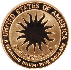 1996 W SMITHSON $5 PF reverse