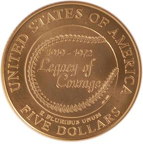 1997 W ROBINSON $5 MS reverse