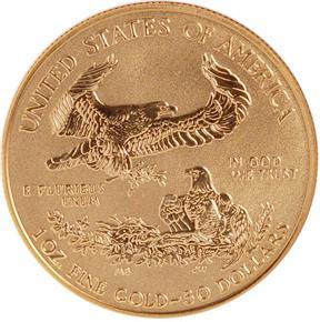 2006 W REVERSE PF EAGLE 20TH ANNIVERSARY G$50 PF reverse