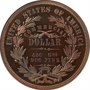 1872 J-1217 T$1 PF reverse