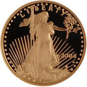 2004 W EAGLE G$25 PF obverse