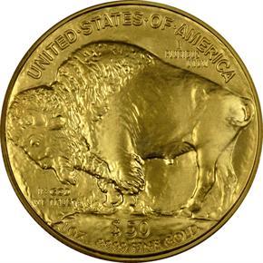 2006 BUFFALO .9999 FINE G$50 MS reverse