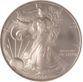 2006 EAGLE S$1 MS obverse