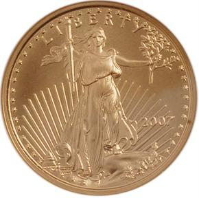 2007 EAGLE G$10 MS obverse