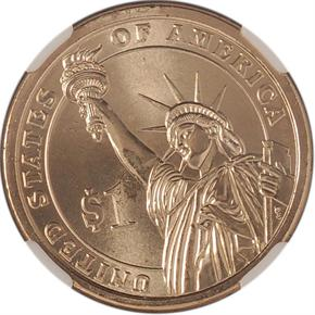 2007 D GEORGE WASHINGTON $1 MS reverse