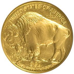 2007 BUFFALO .9999 FINE G$50 MS reverse
