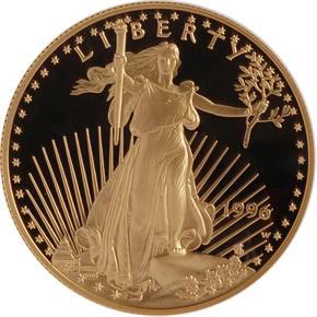1996 W EAGLE G$50 PF obverse