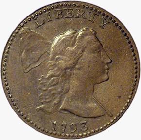 1793 LIBERTY CAP 1C MS obverse