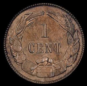 1861 CSA ORIGINAL B-8005 1C PF reverse