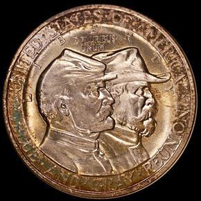1936 GETTYSBURG 50C MS obverse