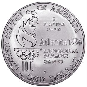 1996 D OLYMPICS PARALYMPICS S$1 MS reverse