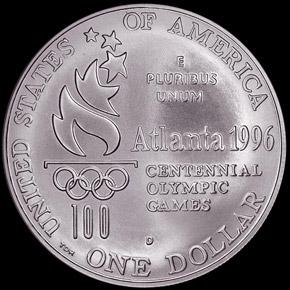 1996 D OLYMPICS HIGH JUMP S$1 MS reverse