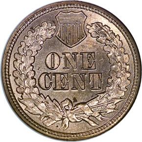 1863 1C MS reverse