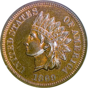 1869 1C PF obverse